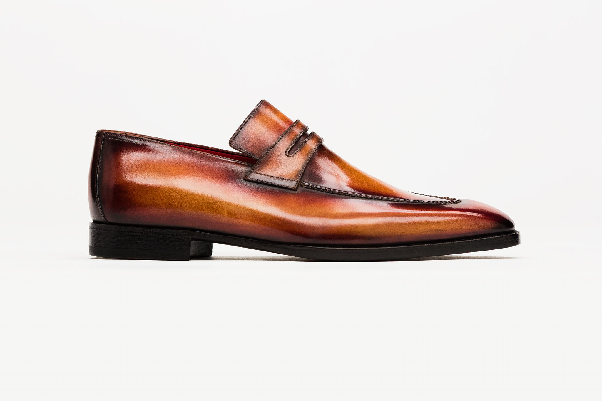 Discover The Art Of Patina That Beautifies Berluti Shoes D Island Slip On Mocasine Casual Brown Gallery