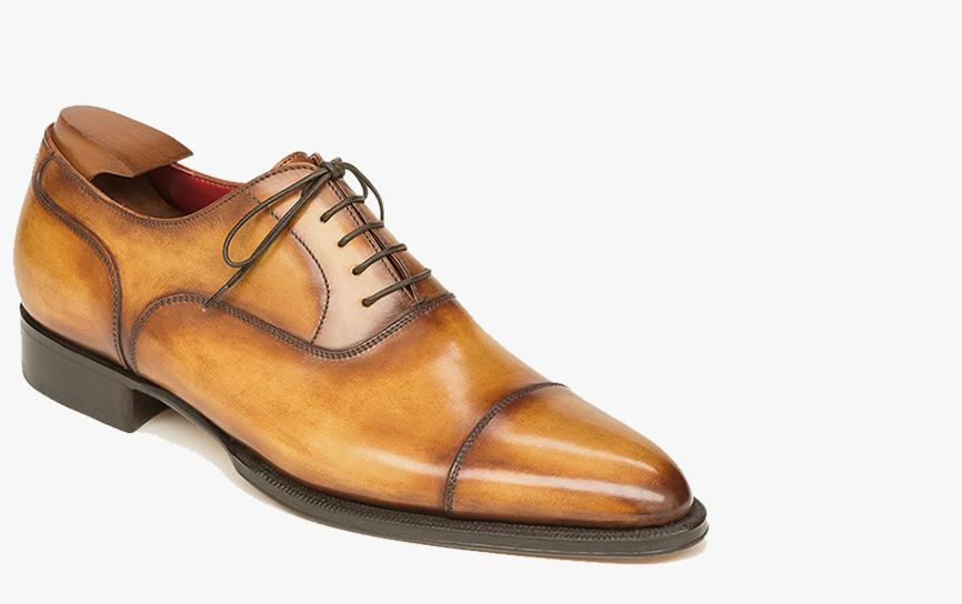 Berluti bespoke shoes, born of