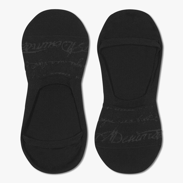Ghost Scritto Socks, BLACK, hi-res