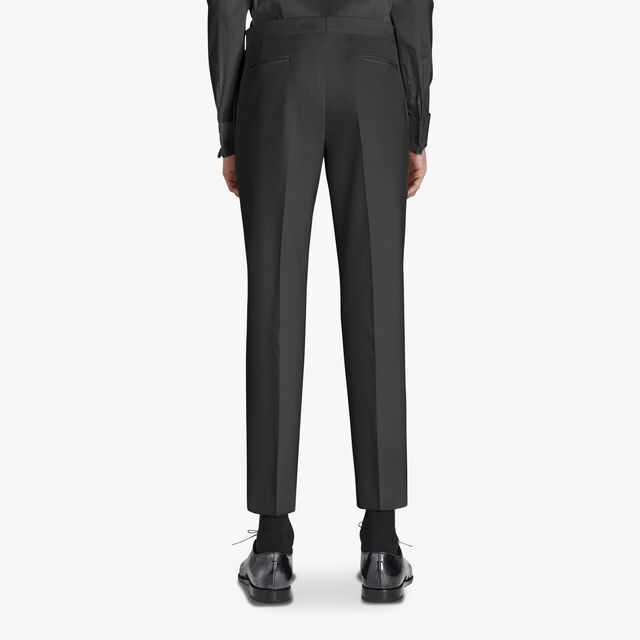 Alessandro Formal Evening Scritto Wool Pants, NOIR, hi-res