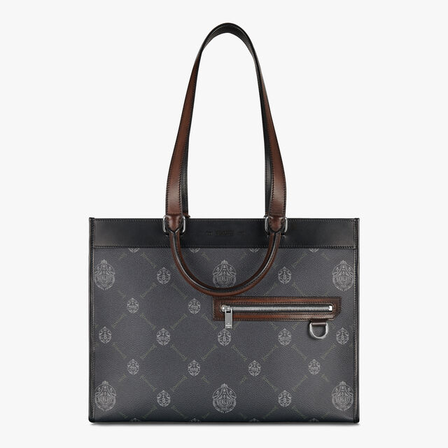 Ulysse Small Canvas And Leather Tote Bag
