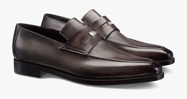 Berluti 125th Anniversary Andy Penny Loafer, ICE BROWN, hi-res