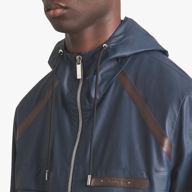 Nylon Effect Leather B-Way, FROZEN LAKE BLUE, hi-res