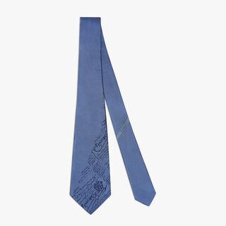Cravate Scritto En Soie, AVEIRO, hi-res