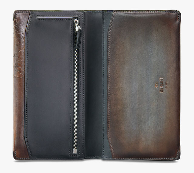 Day Epure Scritto Leather Wallet, ICE BROWN, hi-res