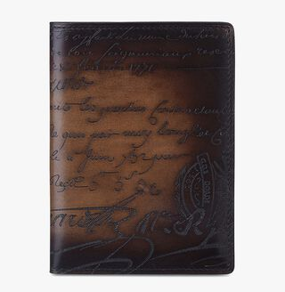 Cedrat Leather Passport Holder, TOBACCO BIS, hi-res