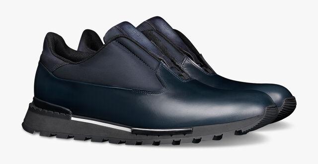 Fast Track 镜面皮运动鞋, NAVY, hi-res