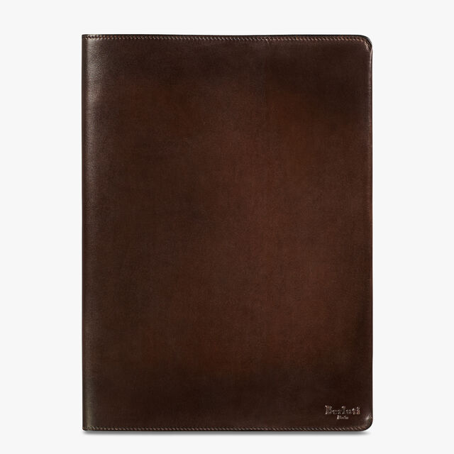 Epure Leather Notebook Cover A4, BRUN, hi-res