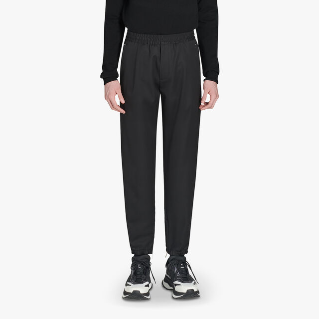 Adjustable Wool Joggers, NOIR, hi-res