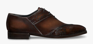 Patchwork Demesure Scritto Leather Oxford