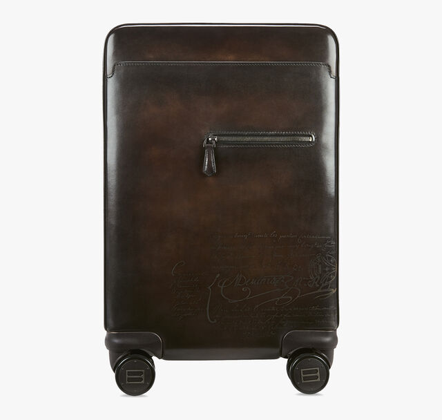 Formula 1004 Scritto Leather Rolling Suitcase, TDM SCURO, hi-res