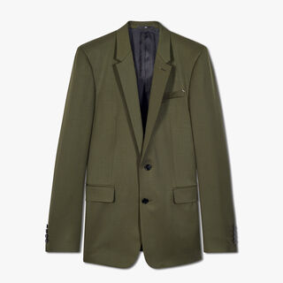 Regular Fit Wool Jacket