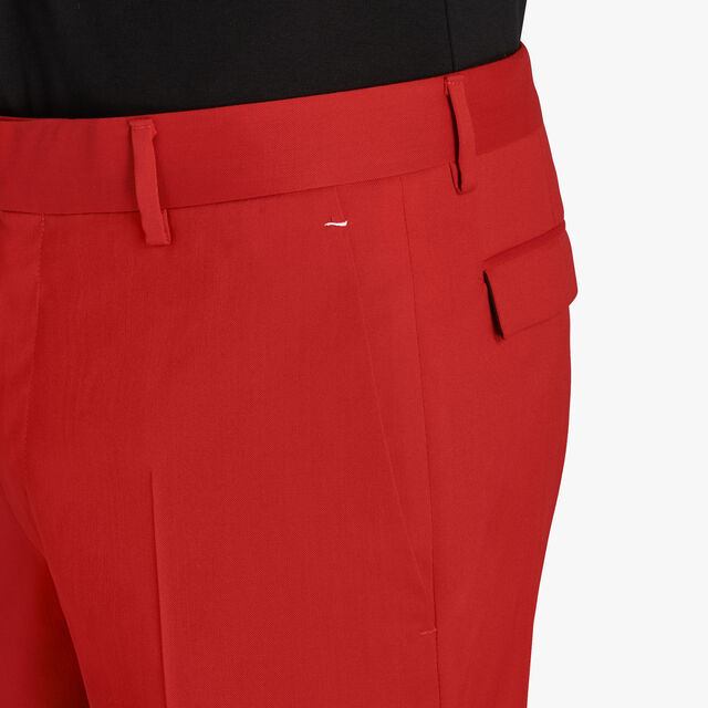 Wool Trousers, IMPERIAL RED, hi-res