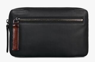 Pilote Leather Cross-Body Bag, NERO, hi-res