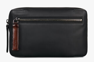 Pilote Vitello Calf Leather Cross-Body Bag, NERO, hi-res