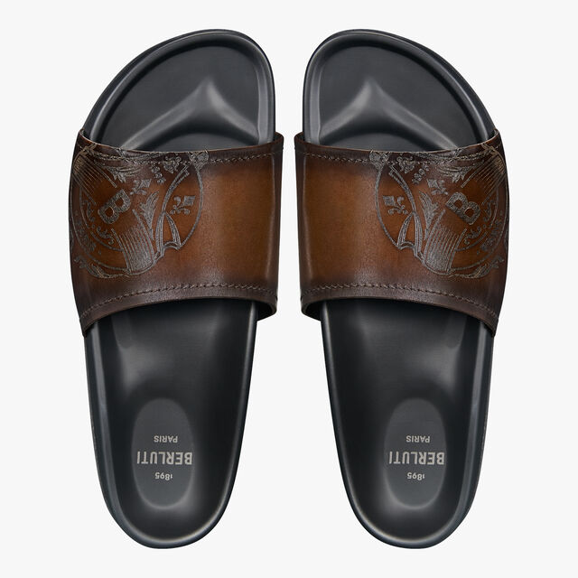 Egio Stamp Leather Sandal, TDM INTENSO, hi-res