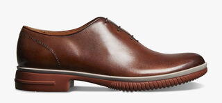 Alessio Cagliari Calf Leather Oxford, MOGANO, hi-res