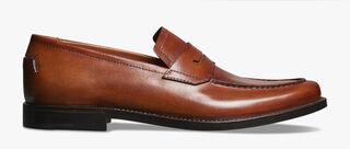 Gianni Sapienza皮革乐福鞋, COGNAC, hi-res