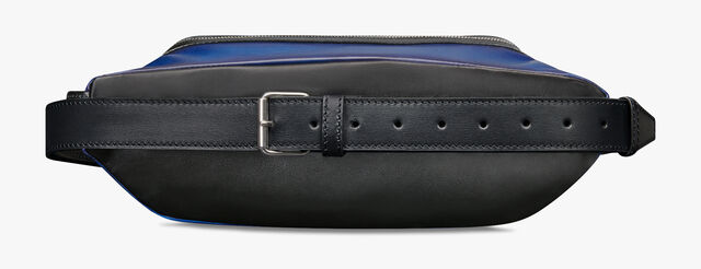 Balade Leather Messenger Bag, DEEP SEA BLUE, hi-res