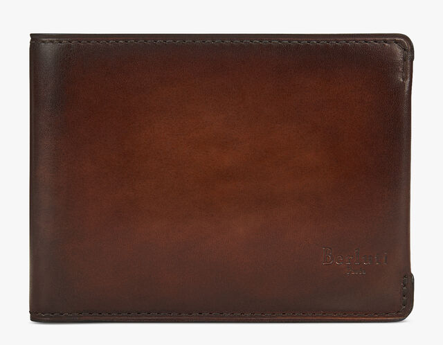 Essentiel Leather Wallet, MOGANO, hi-res