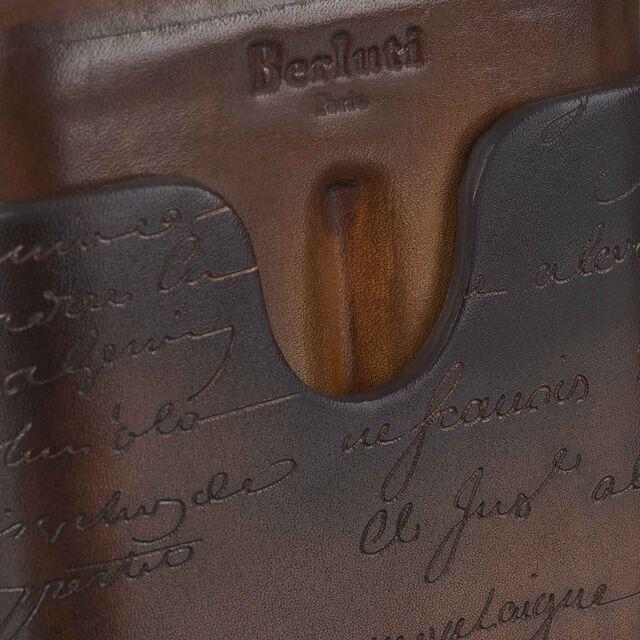 Scritto Leather Four-Cigar Case, TOBACCO BIS, hi-res