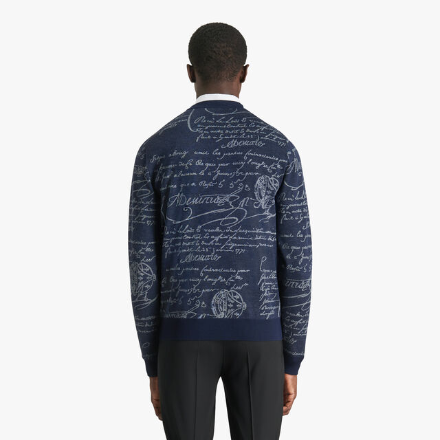 Scritto Sweater, BLUE WINTER NIGHT, hi-res