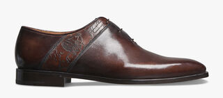 Scars Démesure Engraved Calf Leather Oxford, TDM, hi-res