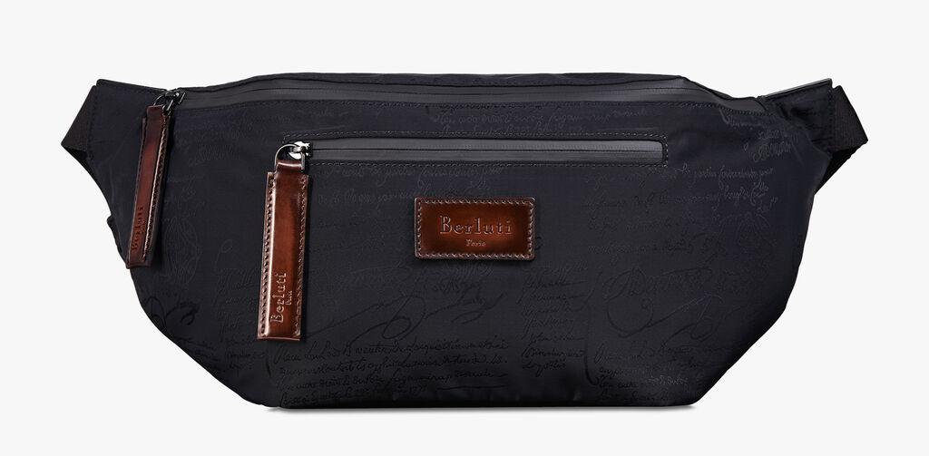 e9e57ea9fa Complice Large Nylon Calf Leather Messenger Bag - Berluti