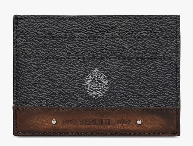 Drive Canvas and Leather Card Holder, BLACK + TDM INTENSO, hi-res