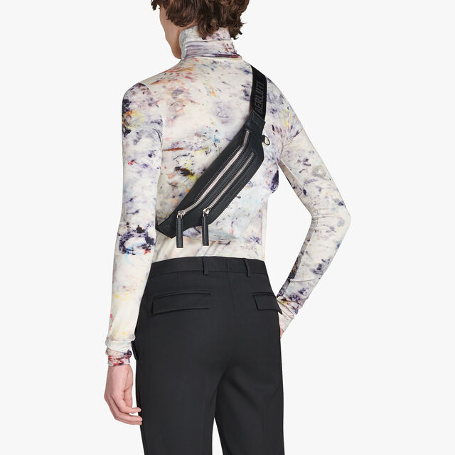 Complice Small Scritto Nylon Belt Bag, MARBLE, hi-res