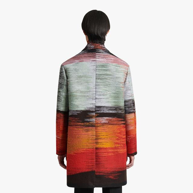 Lev Khesin Embroidered Coat, NOIR, hi-res