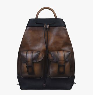 Horizon Leather Backpack, TOBACCO BIS, hi-res