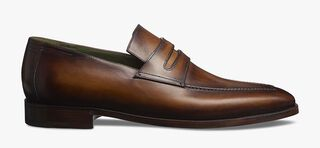 Andy Démesure Calf Leather Loafer, CACAO, hi-res