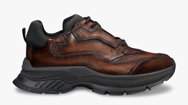 Gravity  Leather  Low-Cut Sneaker, TDM INTENSO, hi-res