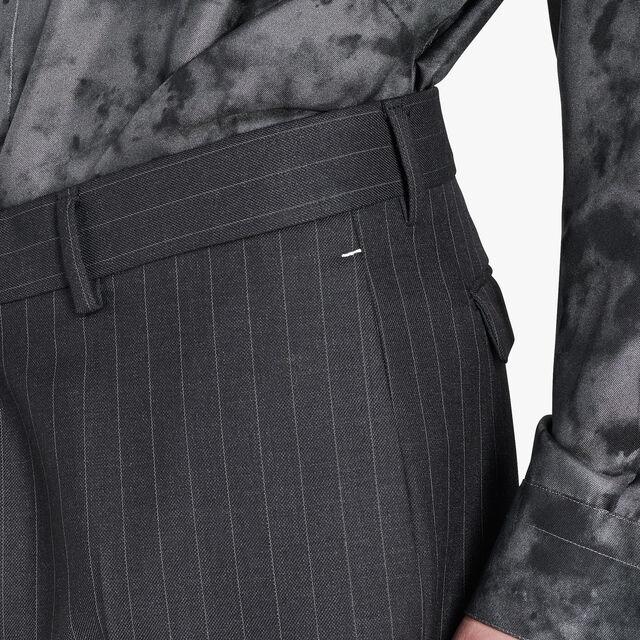 Regular Fit Formal Wool Lined Pants, FERRO/DARK LEAD, hi-res