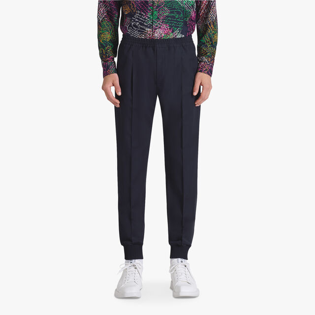 Wool Casual Joggers