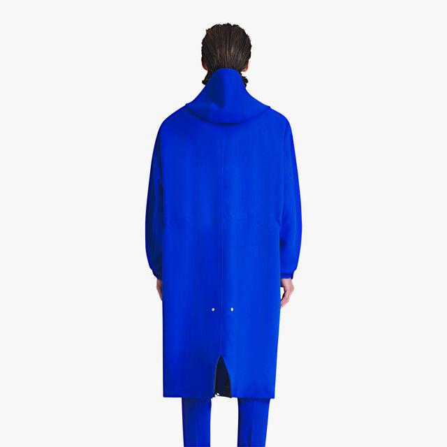 Parka Non Doublée En Laine Vierge Légère, ROYAL BLUE/MIDNIGHT BLUE, hi-res
