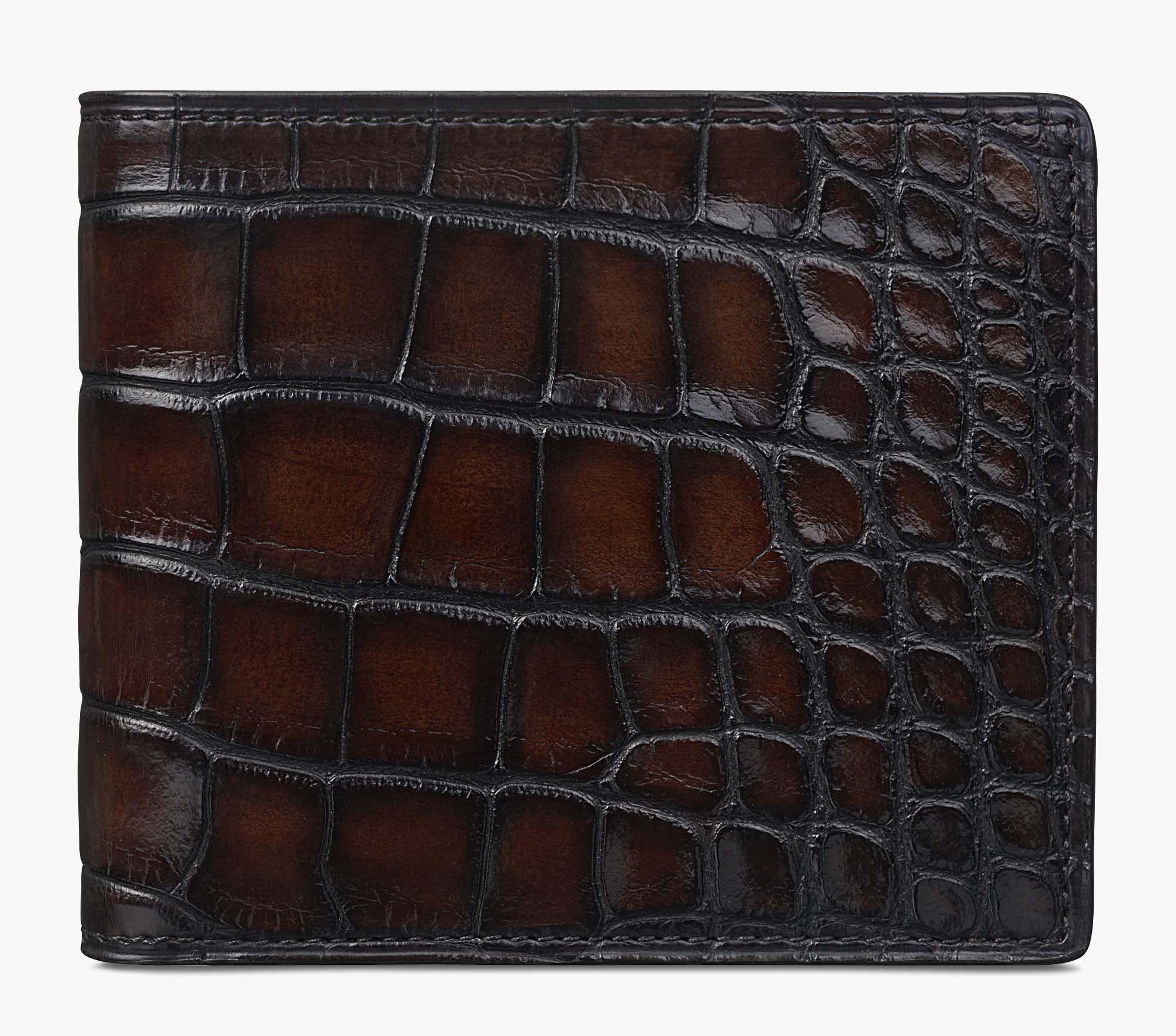 Berluti Portefeuille en cuir Makore 5S3qxZVwJL