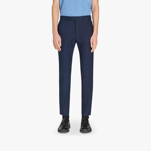 Slim-Fit Cotton Chino Pants, PLEIADES, hi-res