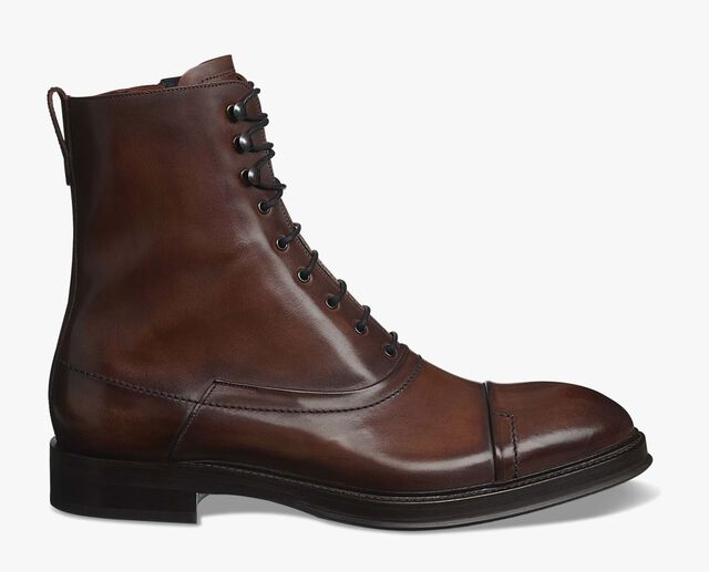 Eris Bergen Calf Leather Boot, MOGANO, hi-res