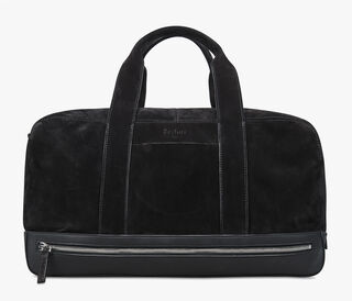 Hide Leather Travel Bag , NERO, hi-res
