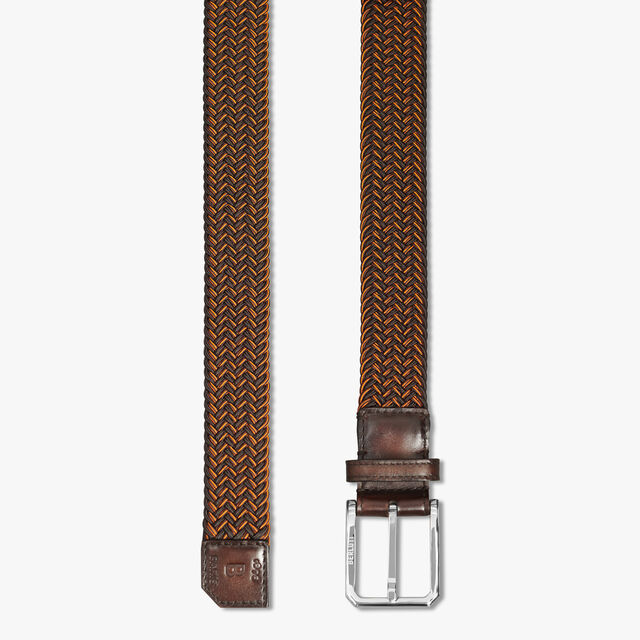 Versatile Fabric And Leather 32 MM Belt, TDM INTENSO, hi-res
