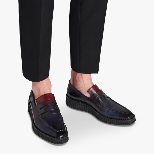 Andy Demesure Calf Leather Loafer, NEW WAVE, hi-res