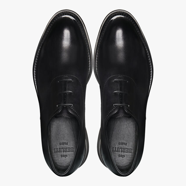 Alessio Leather Oxford, JET BLACK, hi-res