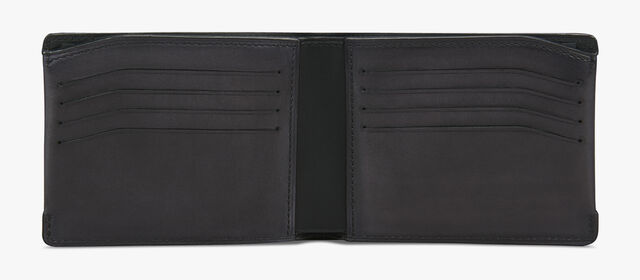 Essentiel Leather Wallet, DEEP BLACK, hi-res