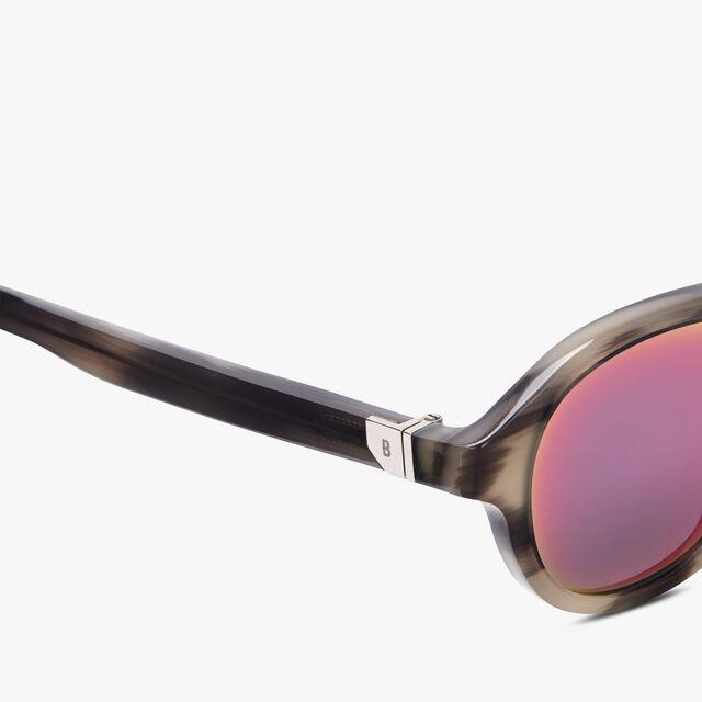 Acetate Eclipse Eyewear, GREY HORN + AMARANTINE, hi-res