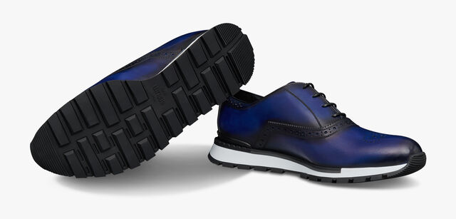 Fast Track Leather Sneaker, UTOPIA BLUE, hi-res