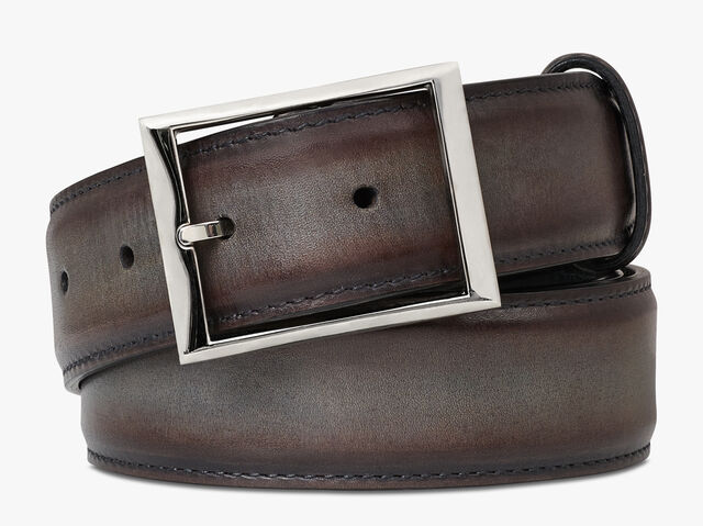 Classic Leather Belt - 35 mm, ICE BROWN, hi-res