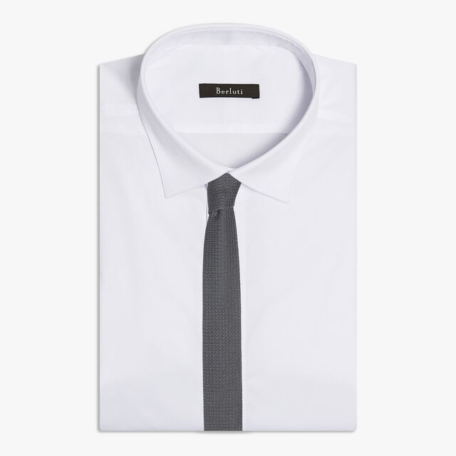 Silk Knitted Tie, CASTLEROCK, hi-res