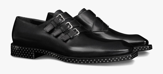 Caractère Edge Leather Monk Shoe